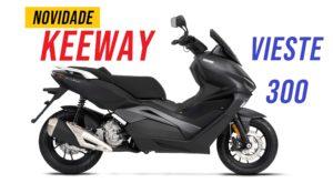 Keeway: Vieste 300 chega ao mercado nacional thumbnail