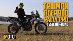 Teste OffRoad: Triumph Tiger 900 Rally Pro – vejam só do que ela é capaz… thumbnail