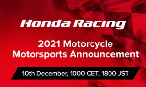 Novo formato online para atividades motorsport Honda thumbnail