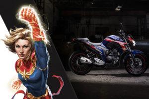 Yamaha comercializa motos com cores dos super-heróis thumbnail