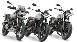 Moto Guzzi: série Centenário nos modelos V7, V9 e V85 TT. thumbnail