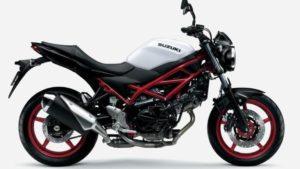 Suzuki SV650 e SV650 X 2021 prontas para o Euro 5 thumbnail