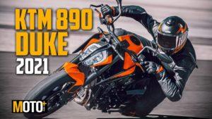 KTM 890 Duke 2021 –  Apresentação Vídeo thumbnail