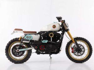 """Urbantracker"", uma Harley Davidson Sportster Scrambler thumbnail"