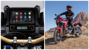 Honda Africa Twin compatível com Android Auto thumbnail