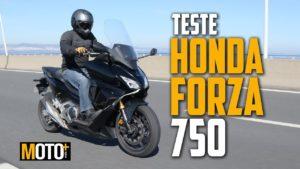Teste Honda Forza 750 – Moto ou Scooter? (Vídeo) thumbnail
