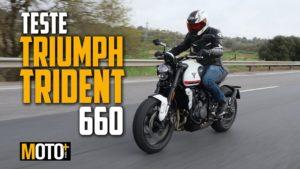 Teste Triumph Trident 660 – Pronta para liderar thumbnail