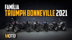 Família Triumph Bonneville 2021 – Apresentação Vídeo thumbnail