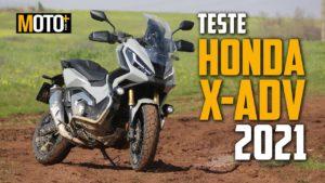 Teste Honda X-Adv 2021 – Um SUV de duas rodas! (Vídeo) thumbnail