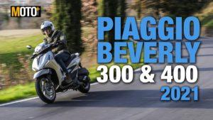 Piaggio Beverly 300/400 2021 – Apresentação Vídeo thumbnail