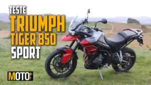 Teste Triumph Tiger 850 Sport – Uma adventure premium com valor low-cost (Vídeo) thumbnail