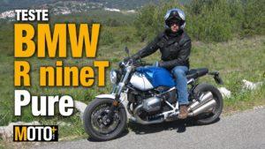Teste BMW R Nine T Pure – Uma moto que apela aos prazeres mais básicos da condução (Vídeo) thumbnail