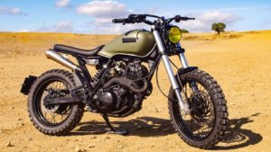 Yamaha XT 600 Army Scrambler… 'hand-made' by LDK thumbnail