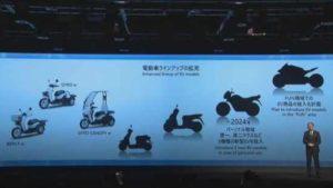 Honda vai lançar três motos eléctricas até 2024 thumbnail