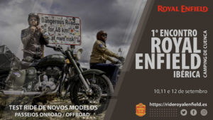 1º Encontro Royal Enfield Ibérica: Um fim-de-semana para todos os utilizadores da marca thumbnail