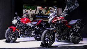 Honda CB400F/X reveladas no Salão Automóvel de Xangai thumbnail