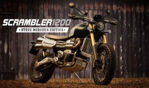 Triumph Scrambler 1200 Edição Especial Steve McQueen – As lendas nunca morrem! thumbnail