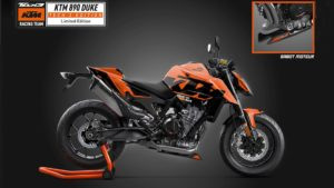KTM 890 Duke Tech3 Limited Edition: Exclusiva para França thumbnail