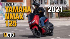 Teste Yamaha NMax 2021 – Assalto à concorrência (Vídeo) thumbnail
