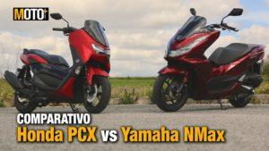 Comparativo Honda PCX vs Yamaha NMax – Uma batalha épica (Vídeo) thumbnail
