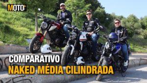 Comparativo Naked Média Cilindrada – Yamaha MT-07 vs Triumph Trident 660 vs Honda CB 650 R (Vídeo) thumbnail