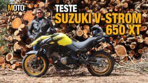 Teste Suzuki V-Strom 650 XT – O chamamento para o turismo de aventura (Vídeo) thumbnail