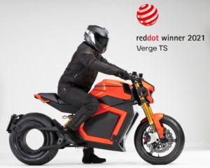 Verge TS premiada no design com o Red Dot Award 2021 thumbnail