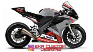 Design: Yamaha YZF-R15 EKA Designs inspirada na irmã R1 thumbnail