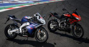 Aprilia RS 125 e Tuono 125: Duas novas referências das oitavo de litro thumbnail