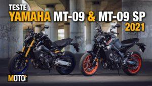 Teste Yamaha MT-09 e MT-09 SP 2021 – A Hypernaked está de volta (Vídeo) thumbnail