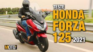 Teste Honda Forza 125 2021 – A mobilidade Executiva (Vídeo) thumbnail
