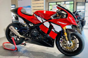 """Yamaha """"R9M"""": Nascida em Itália para os circuitos thumbnail"""