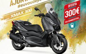 Campanha Yamaha: Oferta de vales de gasolina na compra da XMAX 300 thumbnail
