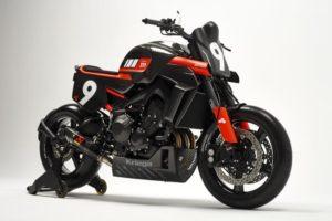 Carbona XR9 by Bottpower: Kit de carenagem para a Yamaha XSR900 thumbnail