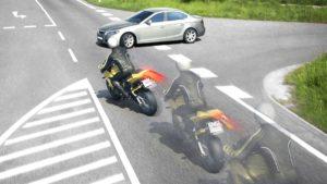 A interação motociclista-automobilista, uma relação difícil thumbnail