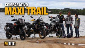 Comparativo Maxi Trail – KTM 1290 Super Adventure S vs Ducati Multistrada V4s vs BMW R 1250 GS 40 years thumbnail
