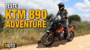 """Teste KTM 890 Adventure – Será que precisamos mesmo de uma """"R"""" ?!? (Vídeo) thumbnail"""
