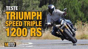 Teste Triumph Speed Triple 1200 RS – A melhor de Speed de sempre? (Vídeo) thumbnail