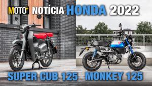 Honda 2022: As icónicas Super Cub e Monkey estão de volta (Apresentação Vídeo) thumbnail