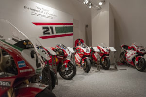 Museu Ducati reabre com exposição dedicada a Troy Bayliss thumbnail
