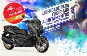 Yamaha: Campanha de verão 'Chave na Mão' para a XMAX 300 thumbnail