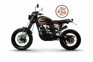 Bullit Hero 125 Gulf Edition: Edição limitada da scrambler belga thumbnail