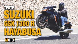 Teste Suzuki GSX 1300 R Hayabusa 2021 – O falcão peregrino está de volta…e melhor do que nunca! thumbnail