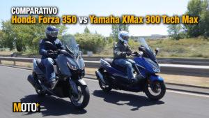 Comparativo Honda Forza 350 vs Yamaha XMAX 300 – Scooters com alma estradista (Vídeo) thumbnail