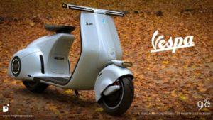 Vespa 98 da Mightyseed Designs: Moderna, retro… e elétrica! thumbnail