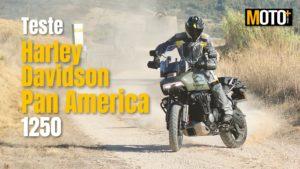 Teste Harley Davidson Pan America 1250 – Uma Harley diferente! (Vídeo) thumbnail