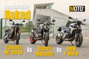 Comparativo Naked – Yamaha MT-09 SP vs Ducati Monster vs BMW F 900 R (Vídeo) thumbnail