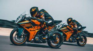 KTM RC390 / RC125 2022: O ADN das pistas para ser líder! thumbnail