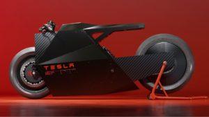 'The Sokudo',  o estranho conceito de moto da Tesla thumbnail