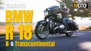 Contacto BMW R18 B e R 18 Transcontinental – Cruisers germânicas com sotaque americano (Vídeo) thumbnail